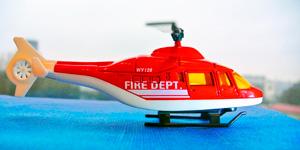 Новые видео для детей.  Игрушки для мальчиков.  Пожарный вертолёт.